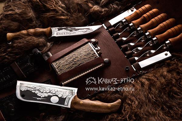 Набор для шашлыка Кизляр