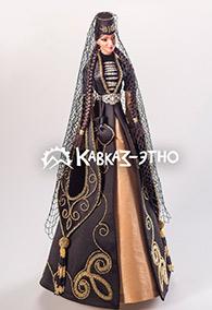 Авторская кукла в ингушском национальном костюме
