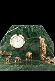 Настольные часы «Пастух с овечками»