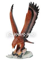 Орел со змеей