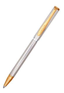 Серебряная ручка с алмазной гранью
