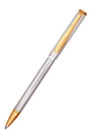 Серебряная шариковая ручка