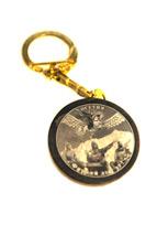 Брелок круглый «Осетинский герб»