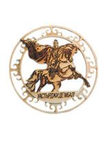 Настенное деревянное панно «Святой Георгий»