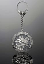 Брелок серебряный Уастырджи