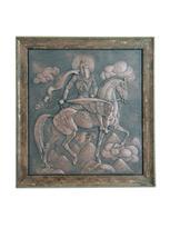 Настенное панно «Уастырджи на коне»