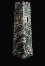 Керамическая башня сувенирная
