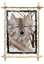 Панно «Волк 1» большое настенное