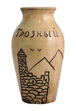 Керамическая ваза «Грозный»