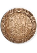 Настенное круглое панно «Лезгинка»