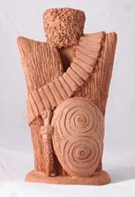 Скульптура «Броня чеченца»