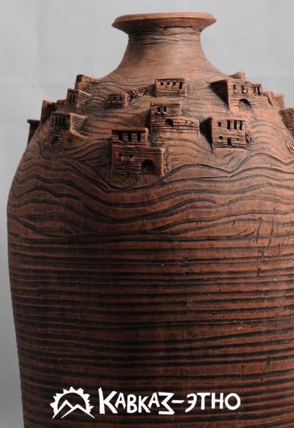 Керамическая ваза «Земля отцов»