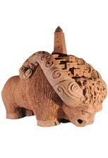 Скульптура «Мифический бык»