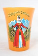 Кружка «Северная Осетия» с девушкой в осетинском национальном платье