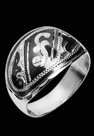 Кольцо из серебра «Фантазия»